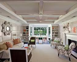 Rectangular Living Room Houzz - Rectangular living room decorating ideas