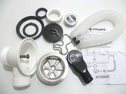 Kitchen Sink Waste Kit For Metal Sinks Plug Amp Chain Mm Waste - Fitting kitchen sink waste