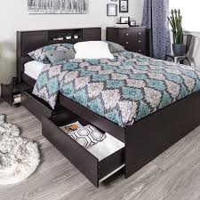 Jysk Storage Ottoman Ruti Bed With Storage Espresso Bed Frames Bedroom Furniture