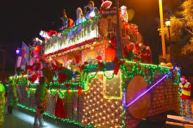 christmas light parade 2016 picture of downtown pensacola