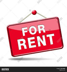 apartment or house for rent banner renting a room or flat or