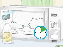 gerüche entfernen gerüche aus der mikrowelle entfernen wikihow