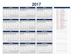 Excel Calendars Templates Fillable Calendar Templates 2017 Excel Blank Calendar Design 2017