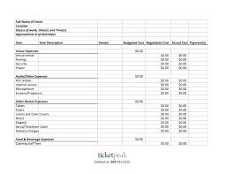 Event Planning Sheet Template 7 Event Planning Budget Templates Uspensky Irkutsk Ru