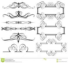 vintage frame borders and dividers stock photo image 30557954