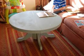 Kitchen Pedestal Table Remodelaholic Pedestal Style Kitchen Table Cut Up And Turned