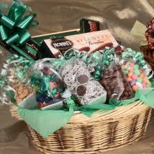 biscotti chocolate gift basket 6208