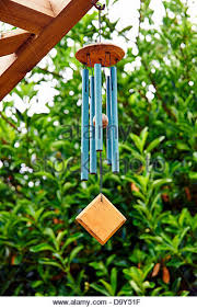 wind chimes garden stock photos wind chimes garden stock images
