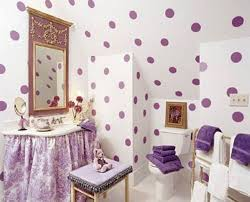 Little Girls Bathroom Ideas Polka Dot Bedroom Home Decorating Interior Design Bath
