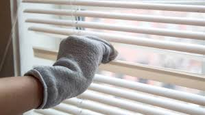 cleaning hack helps clean your blinds in 1 minute or less today com
