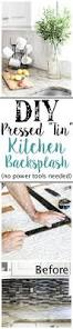 Kitchen Backsplash Diy 25 Frugal And Creative Kitchen Backsplash Diy Projects Hative