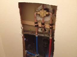 pex repipe shower valve yelp