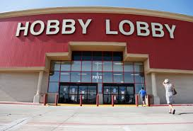 hobby lobby critics spell out their protest at craft store