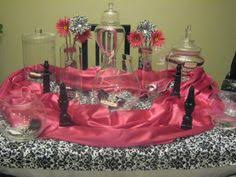 Pink And Black Candy Buffet by A Red Gold And Black Candy Buffet For A Titanic Themed Prom By
