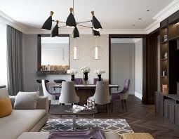 eclectic dining rooms dining eclectic dining rooms stunning modern bold blue chairs