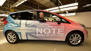 kereta nissan note production of new nissan note starts in sunderland