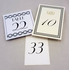 table numbers hyegraph invitations u0026 calligraphy