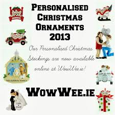 personalised christmas ornaments 2013