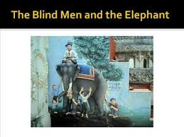 Poem The Blind Man And The Elephant Paradigms Of Thought And The Story Of The Blind Men And The