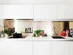 kitchen stainless steel backsplash stainless steel backsplashes for modern kitchens kitchen design 2017