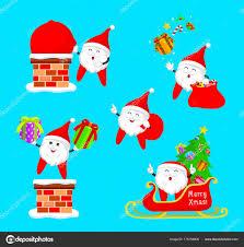 imagenes de santa claus feliz navidad colección dibujos animados lindo diente santa claus feliz navidad