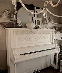 White Painted Furniture Shabby Chic by 59 Best Shabby Chic Pianos Images On Pinterest White Piano