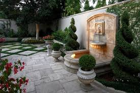Backyard Water Feature Ideas Attractive Patio Water Feature Ideas Garden Water Wall Backyard