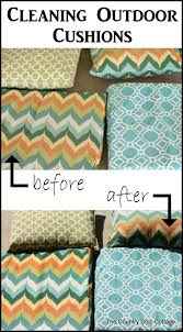 Diy Patio Cushions How To Clean Outdoor Furniture Cushions Home Design Ideas And