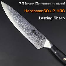 haoye 8 inch damascus chef knife japanese vg10 steel kitchen