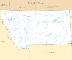 County Map Of Montana montana rivers and lakes u2022 mapsof net