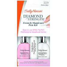 amazon com sally hansen treatment diamond strength french