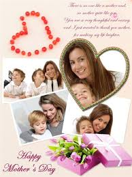 mother u0027s day collage card add on templates download free