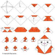 How To Make A Origami Santa - how to make santa claus origami santa claus animated