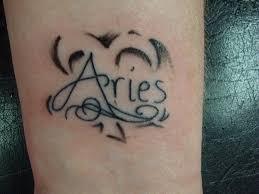 33 awesome aries wrist tattoos design