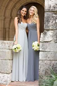 grey bridesmaid dresses a line sweetheart grey chiffon bridesmaid dress bodice empire