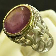 silver ring for men islam sterling silver 925 ruby men ring islam