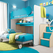 Modern Bunk Beds For Boys Playground Theme Modern Bunk Bed With Stairs Bedroom Design