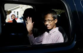 ahmed mohamed boy arrested over homemade clock withdraws from
