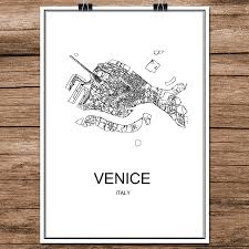 Venice Italy Map Popular Italy Map Poster Buy Cheap Italy Map Poster Lots From