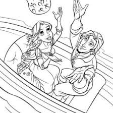 coloring pages disney tangled archives mente beta complete
