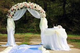 wedding arches decorated with flowers wedding arch decoration ideas
