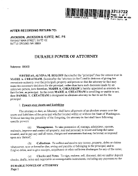 Free Durable Power Of Attorney Form Download free printable power of attorney form generic