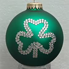 shamrock ornament tree ornaments with shamrocks