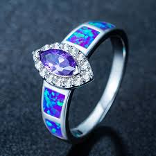 blue amethyst rings images Amethyst eye fire opal ring magick jewelry jpg