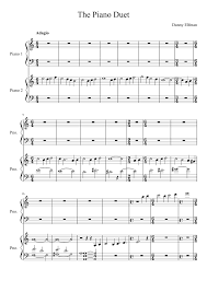 the corpse piano duet musescore orchestra