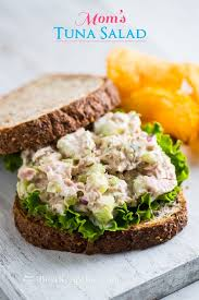 best salad recipes mom s best tuna salad recipe for tuna fish sandwich