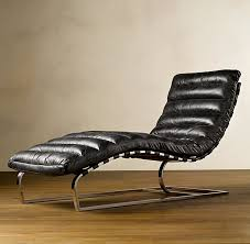 Leather Chaise Lounge Oviedo Leather Chaise