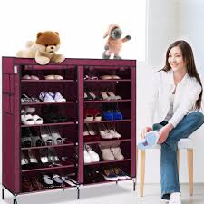 Storage Closet 2017 Us Stock Portable Home Shoe Rack Shelf Shoe Storage Closet