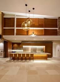 double height ceiling design kitchen contemporary with sunshine