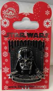 disney star wars darth vader humbug merry sithmas christmas 3d pin